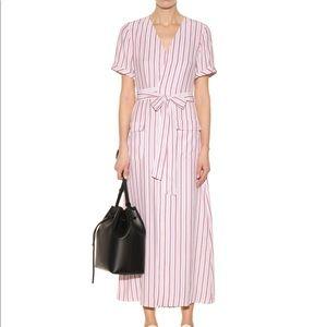 Frame 'Le Wrap Tie' Silk Dress NWOT